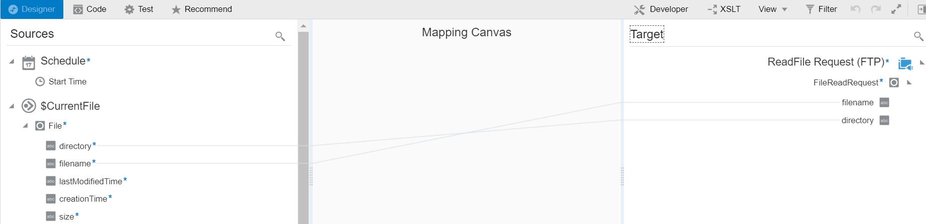 Mapper in OIC