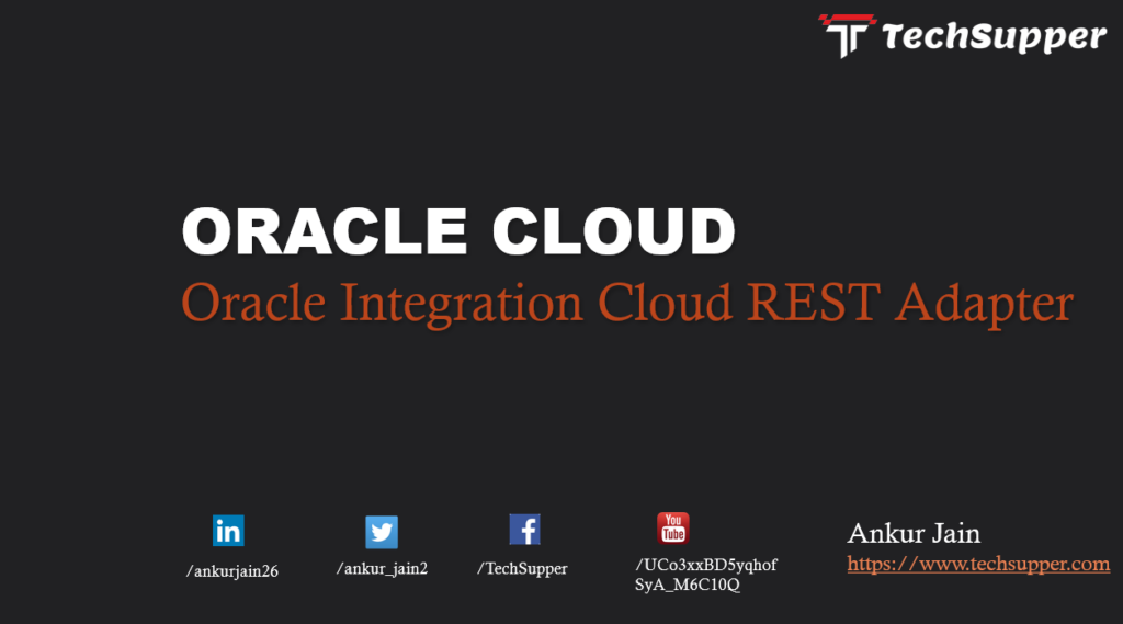 Oracle Integration Cloud REST Adapter