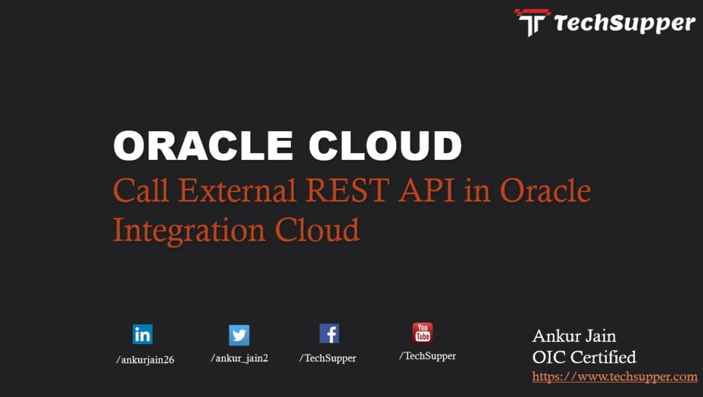 Oracle Integration Cloud call API