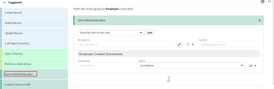 Send Email in Oracle VBCS